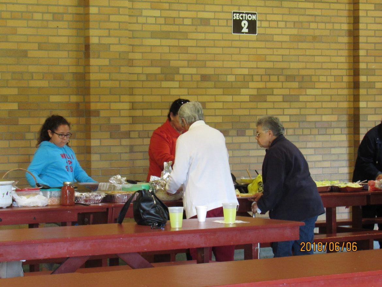 Cristo Rey Church Celebrates Senior Citizens Program with End of the Year Picnic