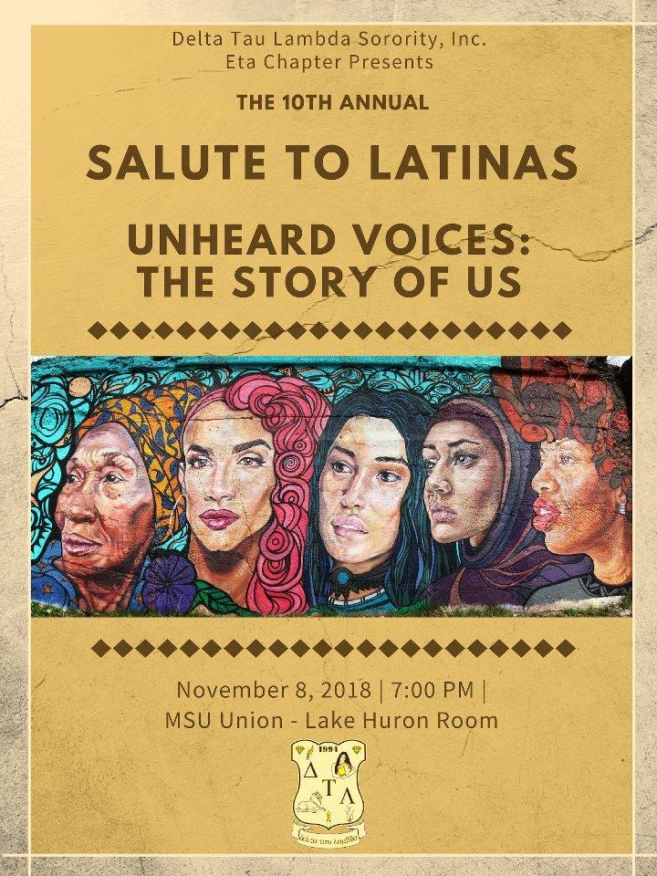 The 10th Annual Salute To Latinas: Fuerza de la Mujer Will Be Thursday, November 8, 2018