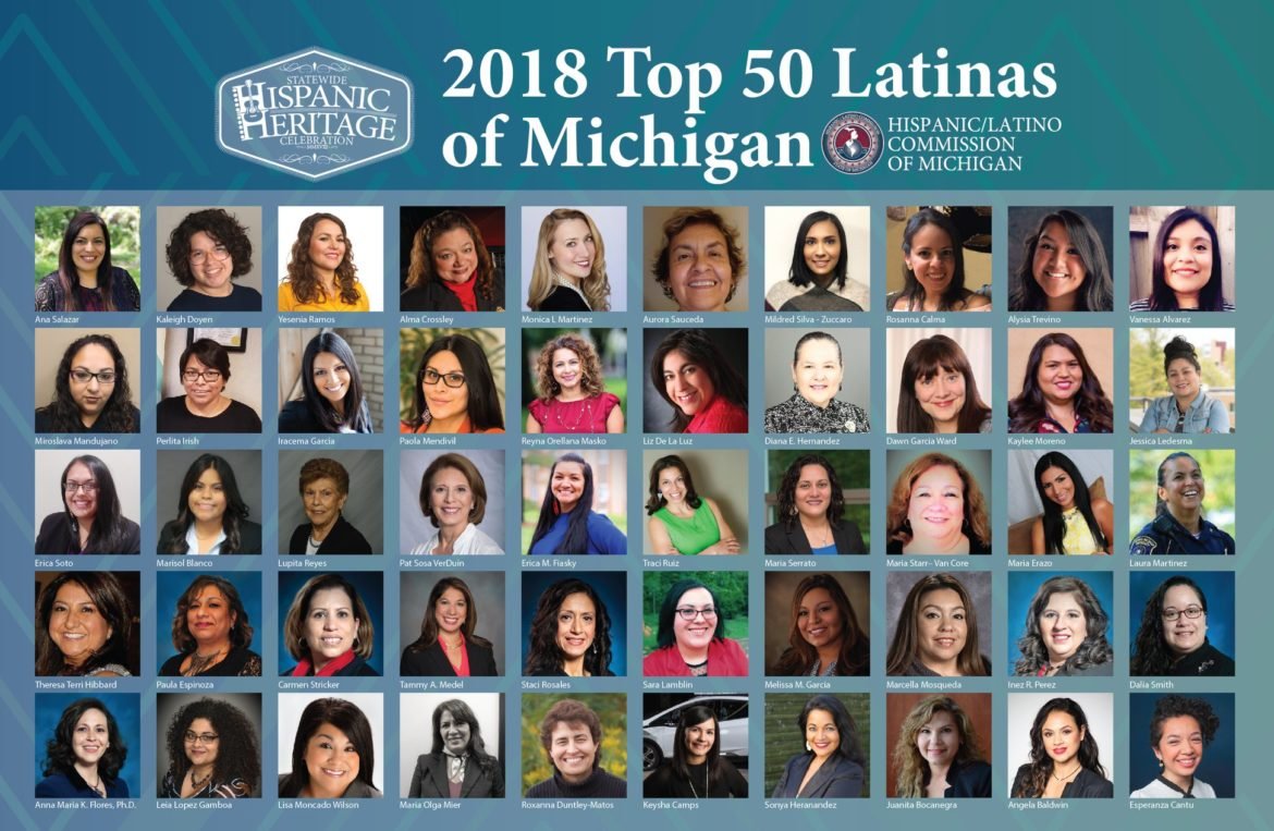 Hispanic Latino Commission Names Recognizes Top 50 Latinas Across The State Of Michigan